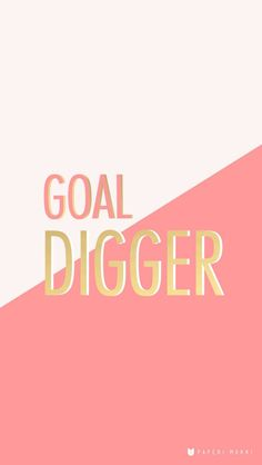 We love this cute and functional iPhone wallpaper to remind yourself to always work hard and stay humble. Always be a #goaldigger.