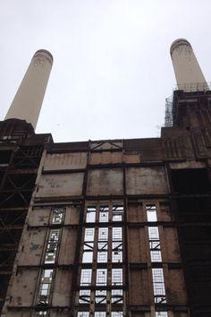 Inside the Battersea Power Station♡