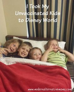 Yes, it's true.  We've recently returned from a lovely little vacation at Disney World. Where we flew in airplanes, and were around thousands of peo