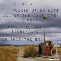 Up In The Air- 30 Seconds To Mars
