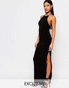 Asos club l black dress 6 9