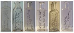 antique medicine bottles -