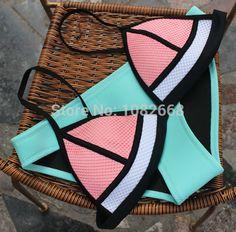 Cheap bikini model, Buy Quality bikini separates directly from China bikini leopard Suppliers:  2015 Newest Women Neoprene Bikini Set Push Up Swimwear Padded Swimsuit Bathing Suit        2015