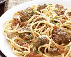 Venison Meatballs in Mushroom Sauce - a great recipe to introduce game meat without overwhelming the palette.