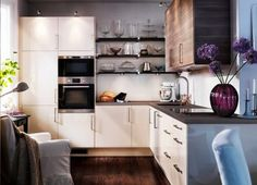 #Small #kitchens can still shine with kitchen accents!