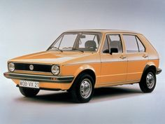 1974  VWゴルフⅠのオリジナル(2) - オールドレーシングカー談義