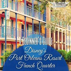 Disney's Port Orleans Resort - French Quarter is a moderate resort located near Downtown Disney. The sister resort to Disney's Port Orleans Resort - Riverside, French Quarter is smaller and is themed to resemble New…