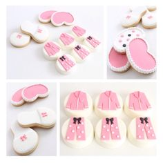 Slumber party themed chocolate coated Oreos and cookies by Sweet Table Australia