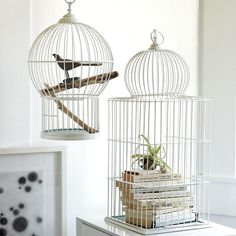 Клетка для птиц - достаточно популярный элемент декора. Такие клетки создадут в помещении атмосферу романтичности и трогательности. Они идеально будут смотреться в интерьерах в стиле прованс и кантри, винтаж и классика. Декоративные клетки могут быть необычным подсвечником, оригинальной люстрой, в них можно поместить цветы, или даже фотографии. Включив воображение и фантазию, из декоративных клеток можно создать целые композиции на любой вкус!   #строители #поиск_строителей_украины