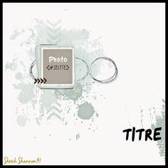 Scrap Plaisir shannon91: DT Spray & Scrap : sketch et challenge