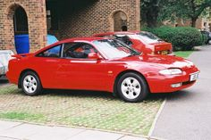 Moment of nostalgia. I had a Mazda MX6 just like this.