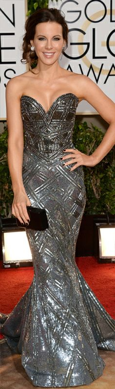 Kate Beckinsale in Zuhair Murad | Golden Globes | The House of Beccaria