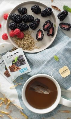 Bigelow Benefits Balance: Taking time to care for Balance every day. Sweet and spicy cinnamon top notes with smooth balanced sweet and tart blackberry end.