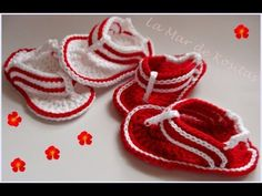 TUTORIAL SANDALIAS CROCHET.. in spanish but looks really easy