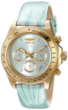 Invicta Women's 18378 Speedway Analog Display Japanese Quartz Blue Watch | Smart Pinner
