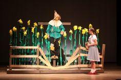 Wizard of Oz Set Design- front of stage - cornstalks and gate?