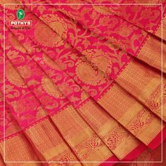 Our weavers in kancheepuram ensure you look like a traditional goddess in our kancheepuram pure silk sarees only available at Pothys. https://www.pothys.com/pure-silk-sarees/kancheepuram-wedding-silks.html/ #KancheepuramSilks #BridalSaree #WeddingSeason
