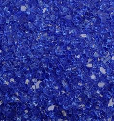 Cobalt blue fire glass makes a gorgeous fire!