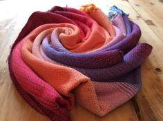 Rainbow 'Perfect Pink' Wrap (388cm)