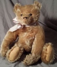 German 10 5  Steiff Early 1900 s Vintage Tanish Gold Baby Bear Fully Jointed | eBay