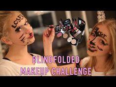 BLINDFOLDED MAKEUP CHALLENGE (FT.ME!! jordyn jones)