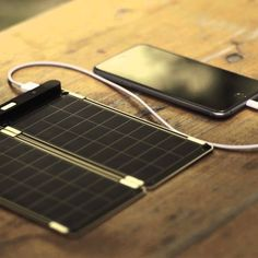 Solar Paper Solar Charger - $125                                                                                                                                                                                 More