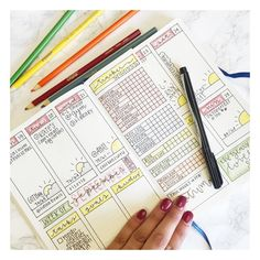 18 Super-Pretty Bullet Journal Weeklies. Inspiration for your journaling and planning.