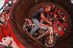 American Motor Drome Company.  The Wall of Death.