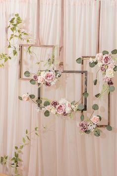 Bridal Shower Backdrop, Bridal Shower Tables, Wedding Shower Decorations, Cute Bridal Shower Gifts, Elegant Party Decorations, Bridal Decorations, Bridal Shower Centerpieces, Bridal Shower Party, Baby Shower Flowers