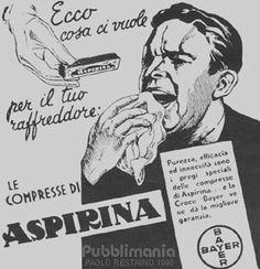 pubblicità aspirina anni 50 - Cerca con Google