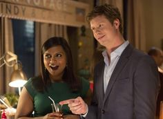 'The Mindy Project' Mindy Kaling and Anders Holm are Getting Back Together Mindy Kaling, Big Bang Theory, Anders Holm, Fall Tv Shows, The Mindy Project, Best Boyfriend, Getting Back Together, Modern Family, New Girl