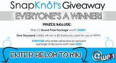 Snapknt Giveaway - Everyone can enter.  Love these people!!