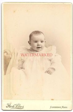 ID'd David Dickinson Jr Dated Victorian Cabinet Card Photo of Baby Boy in Dress  | Collectibles, Photographic Images, Vintage & Antique (Pre-1940) | eBay!