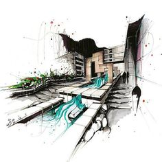 #architecture #scetch