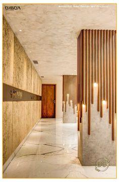 Commercial Architecture, Commercial Interior Design, Office Interior Design, Commercial Interiors, Interior Decorating, Design Hotel, Lobby Design, Wall Decor Design, Ceiling Design