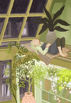 Image uploaded by wild beautiful pony. Find images and videos about illustration, rain and plants on We Heart It - the app to get lost in what you love. Art And Illustration, Illustrations, Arte Inspo, Kunst Inspo, Aesthetic Art, Aesthetic Drawings, Aesthetic Pastel, Cute Art, Amazing Art
