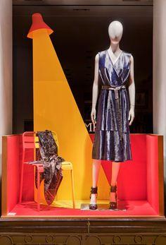 Vitrines Hermès réseau France - Automne 2015/ Windows Hermès for the french network - Autumn 2015 - Dimitri Rybaltchenko - Photos Patrick Burban