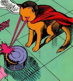 Cat with Super Laser Powers pop art // I don't know why I think this so funny Crazy Cat Lady, Crazy Cats, Comic Books Art, Comic Art, Pop Art Vintage, Illustration Art, Illustrations, Gatos Cats, Pulp