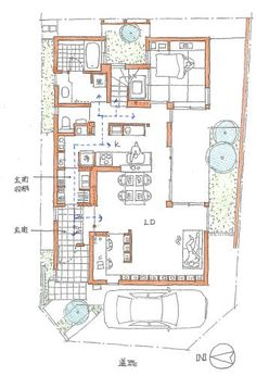 Small Floor Plans, Small House Plans, House Floor Plans, Architecture Concept Drawings, Architecture Plan, House Layout Plans, House Layouts, Hotel Floor Plan, Craftsman Floor Plans