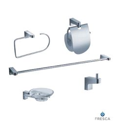 Generoso 5 Piece Bathroom Accessory Set