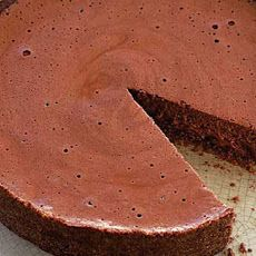 Rich Chocolate Mousse Torte