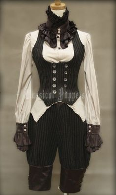 Cool waistcoat and breeches!