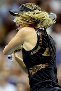 maria sharapova day 1 usopen
