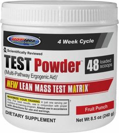 Test Powder (48 sv.) by USP Labs