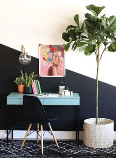 35 ideas home office small workspaces wall colors for 2019 Small Workspace, Office Workspace, Office Walls, Office Wall Colors, Workspace Design, Home Office Design, Home Office Decor, Diy Home Decor, Office Ideas