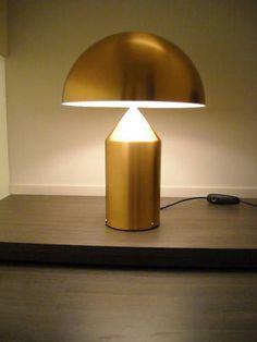 Oluce,Atollo233OR,Tischleuchte,Designerleuchte,gold,neu in Möbel & Wohnen, Beleuchtung, Lampen   eBay