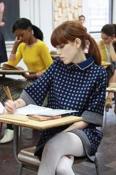 lauren moffatt school girl outfit