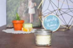 this is a hand-poured candle made with soy and a braided wick. this warm and yummy apple pie scent is perfect to fill your home with a cozy scent for up to 25 hours!   || a b o u t t h e p r o d u c t ||  - small mason jar container - 3oz candle - all natural soy - braided fabric wick - apple pie scent   || w h y s o y ? ||  - soy candles are natural - soy burns 50% longer than regular candles - soy burns clean & will not leave black marks on your walls and ceilings - soy candles are non-...