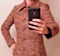 Guess by Marciano Coat Size S Small Tweed Trench Long | Clothing, Shoes & Accessories, Women's Clothing, Coats & Jackets | eBay!