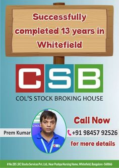 Csb whitefield